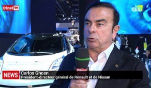 Interview exclusive de Carlos Ghosn : L'avenir de l'industrie automobile c'est le 0 émission »