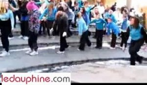 Flashmob Bourg saint maurice