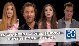 Ils reprennent «I Will Survive» contre Donald Trump