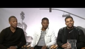 Cast of Straight Outta Compton speaks on race and the legacy of N.W.A.