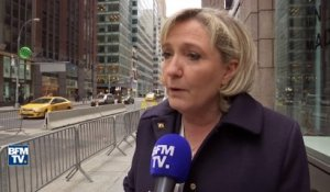 Financement, Trump: comment Marine Le Pen justifie son voyage à New York