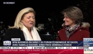 Forum Économique de Davos 2017: Interview d'Isabelle Kocher - 19/01