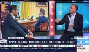 Le Regard sur la Tech: Apple, Google, Microsoft et Uber se mobilisent contre le décret anti-immigration de Donald Trump - 02/02