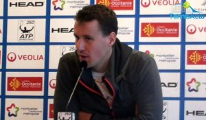 "ATP - Open Sud de France 2017 - Kenny De Schepper : ""Contre Richard Gasquet, il faudra y croire"""