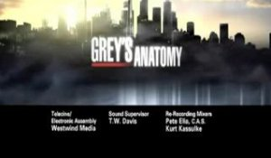 Grey's Anatomy - Promo : 6x19