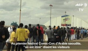 Supers-héros: l'Arabie-Saoudite accueille son premier «Comic-con»