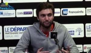 "ATP - Open 13 Provence 2017 - Gilles Simon : ""Je n'irai pas à Indian Wells"""