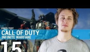 Call of Duty Infinite Warfare - TEST de jeuxvideo.com