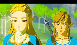 "THE LEGEND OF ZELDA Breath of the Wild - Bande Annonce ""Guard"" (Nintendo Switch)"