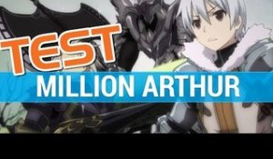 Million Arthur : Test - Gameplay RPG - PC 1080P