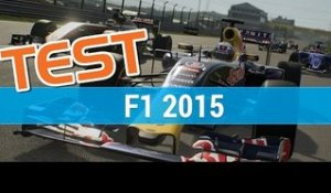 F1 2015 : Test / Nos impressions - gameplay - PC PS4 ONE