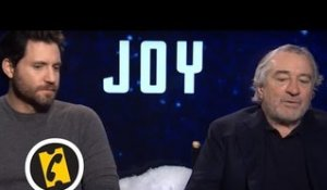 Joy - Robert de Niro fan de David O. Russell - Interview - 2015