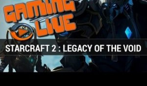 Starcraft 2 : Legacy of the Void, Gaming Live - Gameplay PC