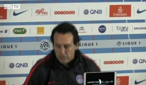 "PSG - Emery s'attend à ""un match difficile"" face à Lyon"