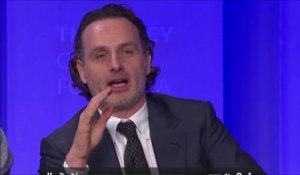 The Walking Dead - Andrew Lincoln imagine la fin de la série