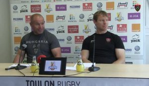 Avant-match Toulon/Toulouse : Richard Cockerill