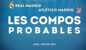 Atlético Madrid-Real Madrid : les compos probables