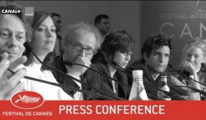ISMAËL'S GHOSTS - Press conference - EV - Cannes 2017
