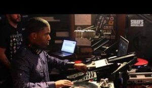 McDonald's Flavor Battle Finalist, DJ R Tistic Mixes Live on Sway in the Morning