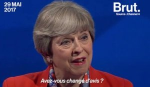 Theresa May déstabilisée par un journaliste de Channel 4