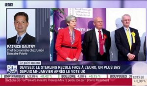 Le point macro: Le sterling recule face au dollar et à l'euro - 09/06