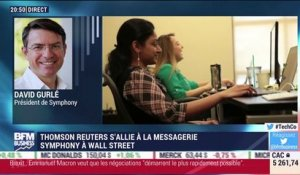 Thomson Reuters s'allie à la messagerie Symphony à Wall Street - 13/06