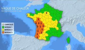 Canicule : 16 départements en vigilance orange - France