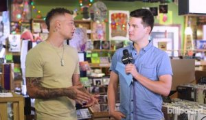Kane Brown Talks Working With Lauren Alaina And Touring With Jason Aldean