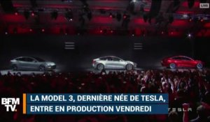 A quoi ressemble la Model 3 de Tesla qui entre en production?