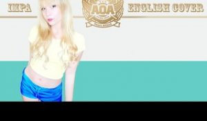 AOA Heart Attack English Cover (ft. LVLUP Victoria)