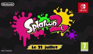 Splatoon 2 - Bande-annonce de lancement (Nintendo Switch)