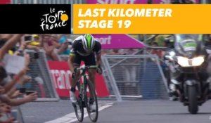 Flamme rouge - Étape 19 / Stage 19 - Tour de France 2017