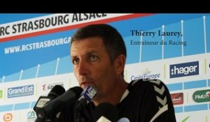 Thierry Laurey avant OL-Racing