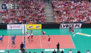 Volleyball - Euro - Premier tour : La Serbie bat la Pologne