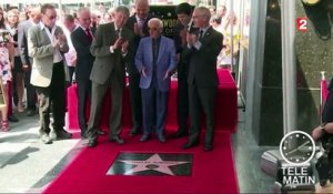 Hollywood : Charles Aznavour honoré sur le Walk of Fame