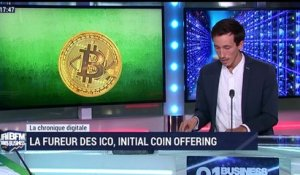 La chronique digitale: La fureur des ICO, Initial coin offering - 02/09