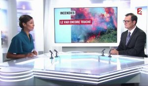 Incendies : le Var encore touché