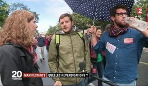 Manifestation du 12 septembre : les multiples revendications du cortège