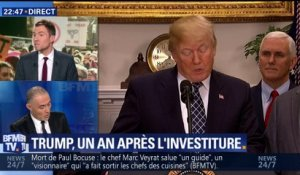 Donald Trump, un an après l'investiture