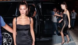 Bella Hadid Dons Sexy Ensemble for Her 21st Birthday