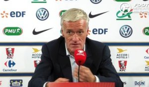 Deschamps dresse le bilan des qualifications