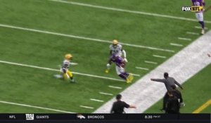 Treadwell jukes Josh Hawkins to get wide open for 18-yard catch