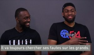 Basket - NBA : Walker/Parker, l'interview croisée