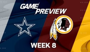 Cowboys vs. Redskins Week 8 game preview