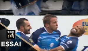 TOP 14 - Essai Anthony JELONCH 1 (CO) - Castres - Agen - J8 - Saison 2017/2018