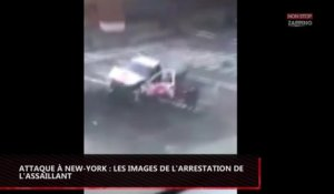 Attentat à Manhattan : Les images de l'arrestation de l'assaillant (vidéo)