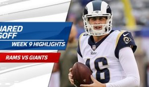 Jared Goff highlights | Week 9