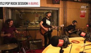 H-BURNS - White tornado - RTL2 Pop Rock Session