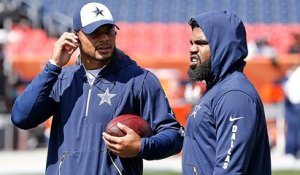 Dak says he's talked to Zeke 'as a best friend' during suspension