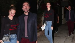 Married Couple Kate Upton and Justin Verlander Have Dinner Date